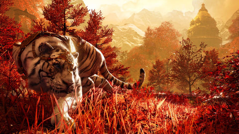 Fantasy Art - The White Tiger