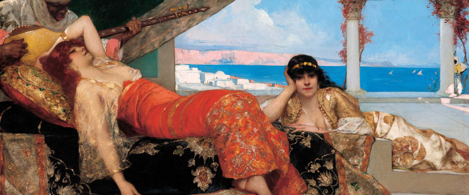 Favorite of the Emir by Jean-Joseph Benjamin-Constant | Buy Posters, Frames, Canvas  & Digital Art Prints