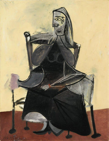 Pablo Picasso - Femme Assise, 1939