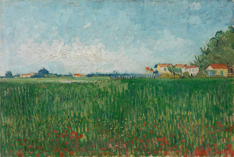 Field with Poppies - Van Gogh