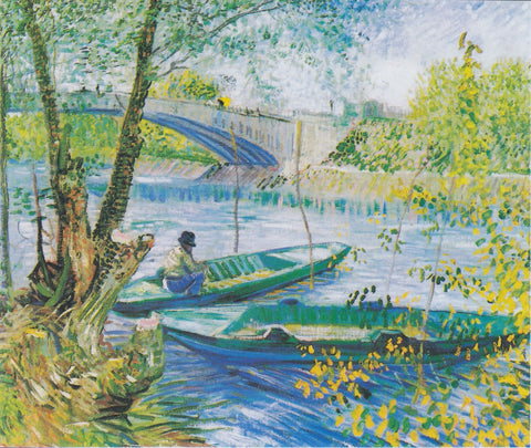 Fishing in the Spring, Pont De Clichy - Posters