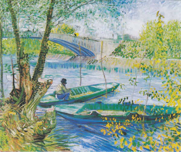 Fishing in the Spring, Pont De Clichy - Large Art Prints
