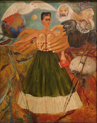 Marxism Will Give Health To The Sick - Frida Kahlo by Frida Kahlo