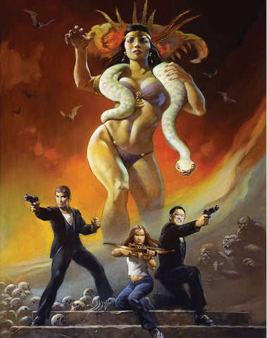 From Dusk Till Dawn -Fan Art - Robert Rodriguez Hollywood Movie Poster