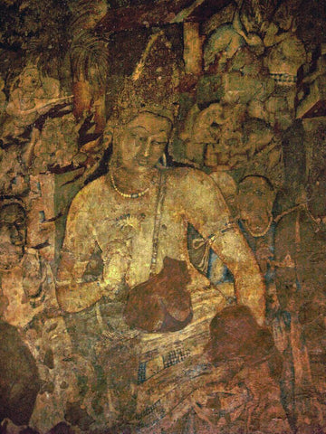 Ajanta Cave Painting -II - Posters