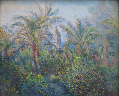 Garden In Bordighera, Impression Of Morning - Posters