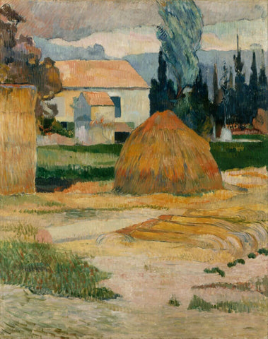 Gauguin Paul Landscape  Near Arles