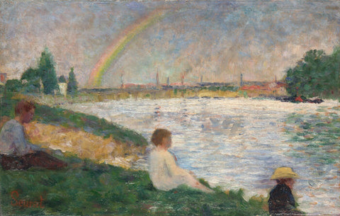 The Rainbow: Study for Bathers at Asnieres