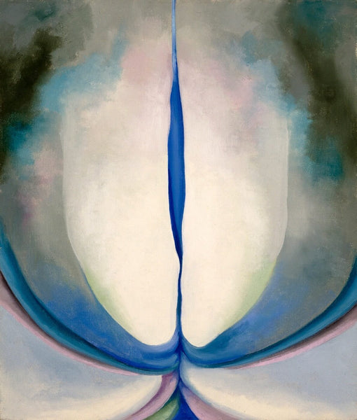 Blue Line 1919 - Georgia O'Keeffe - Framed Prints