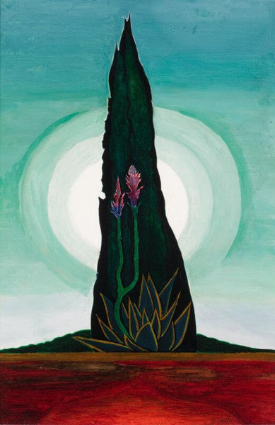 Tree Cactus, Moon - Art Prints