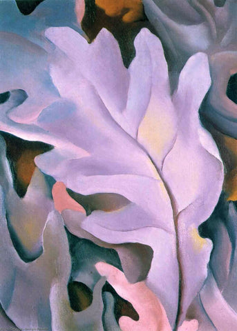 Purple Leaves - Georgia OKeeffe