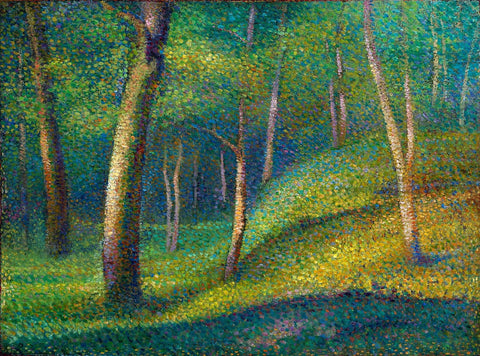 The Forest at Pontaubert - Art Prints