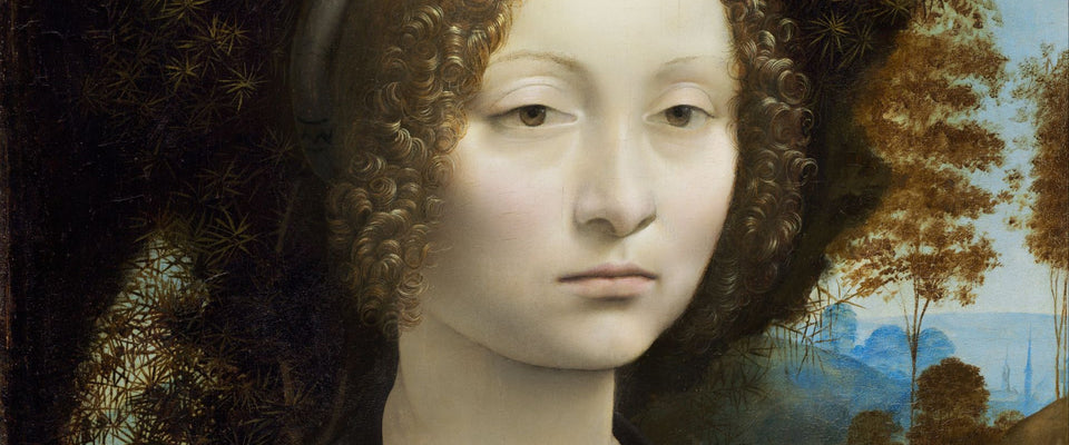 Ginevra de' Benci by Leonardo da Vinci | Buy Posters, Frames, Canvas  & Digital Art Prints