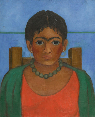 Girl With Necklace (Nina Con Collar) by Frida Kahlo