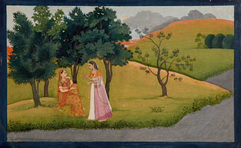 Indian Miniature Paintings - Gita Govinda