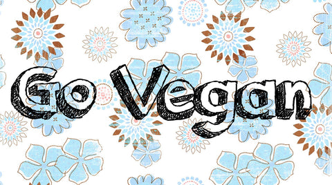 Go Vegan by Sherly David