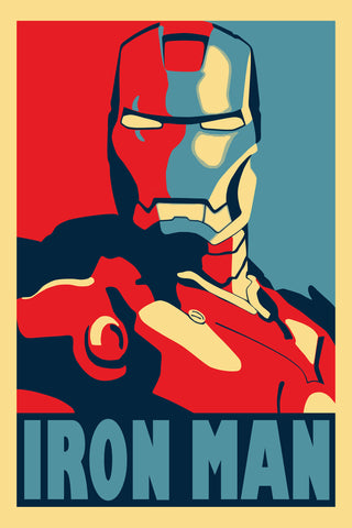 Graphic Art Poster - Iron Man - Hollywood Collection