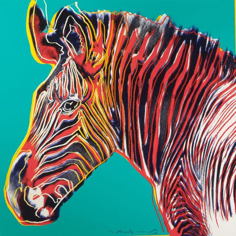 Grevys Zebra - Posters by Andy Warhol