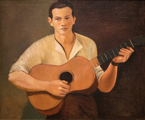 Guitar Player by Andre Derain