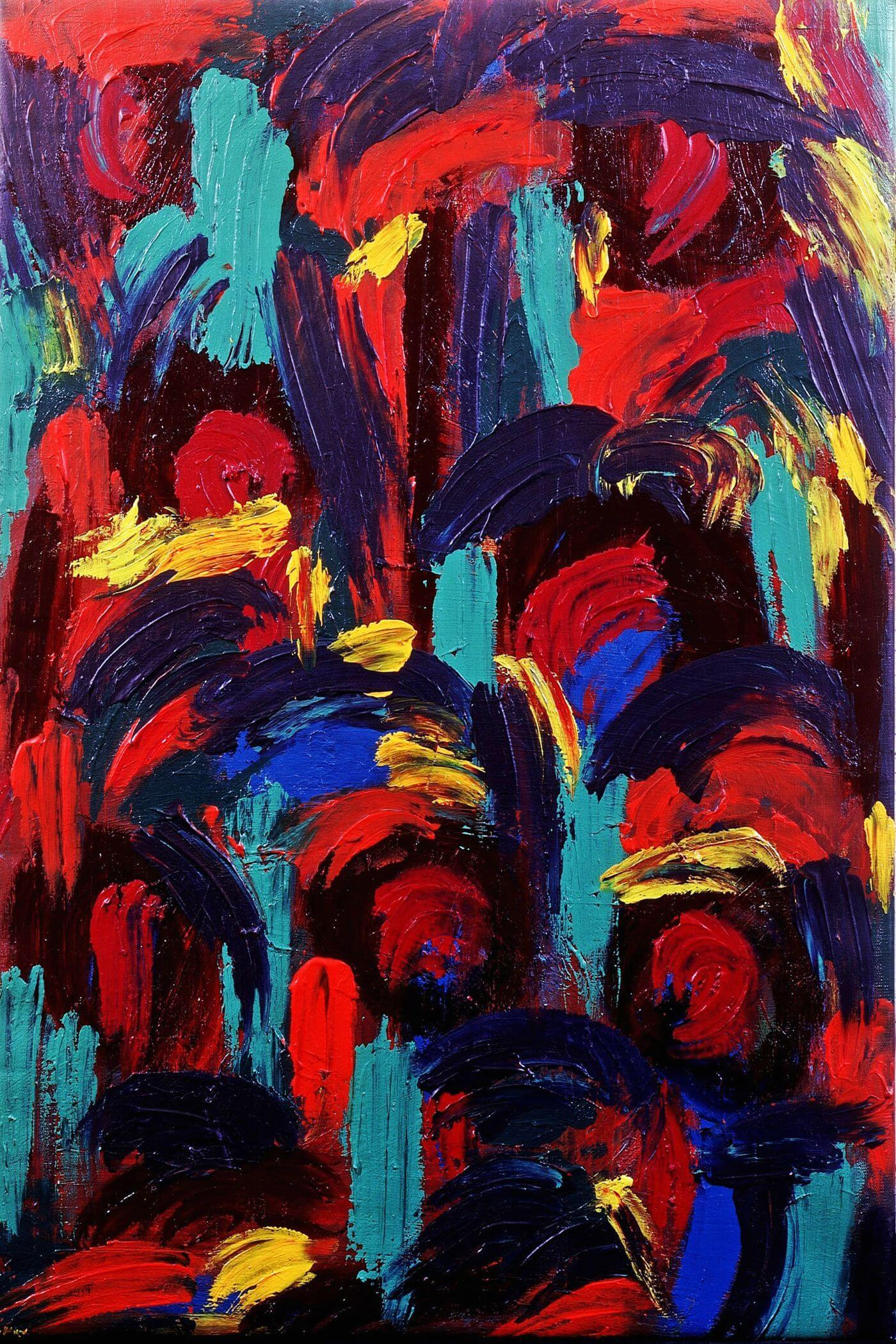 Hand Painted - Abstract Expressionism Painting - Framed Prints