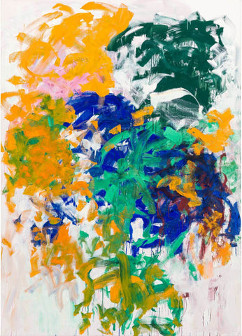 Harm's Way - Joan Mitchell - Abstract Masterpiece Painting