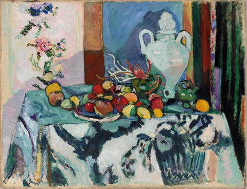 Blue Still Life by Henri Matisse