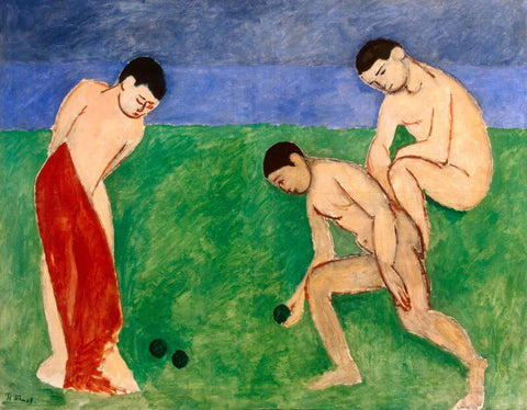 Game Of Bowls, 1908