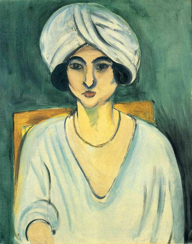 Woman In Turban Lorette