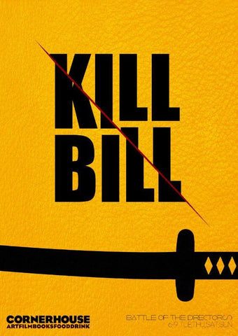 Hollywood Movie Poster II - Kill Bill - Posters by Joel Jerry