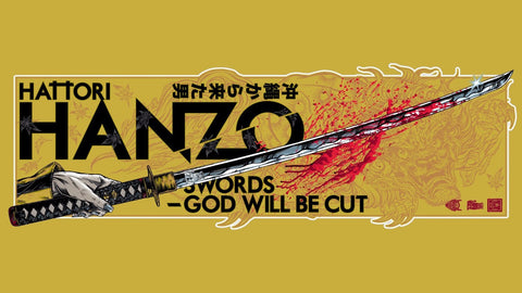 Homage Poster - Kill Bill -Hattori Hanzo - Hollywood Collection