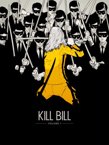 Homage Poster - Kill Bill - Hollywood Collection