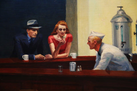 Nighthawks - II by Edward Hopper
