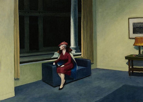Hotel Window by Edward Hopper