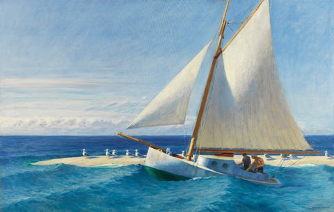 The Martha McKean of Wellfleet by Edward Hopper