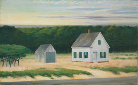 Cape Cod in October by Edward Hopper