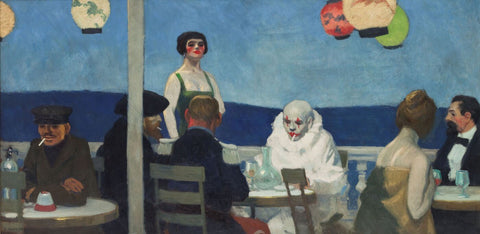 Soir Bleu by Edward Hopper