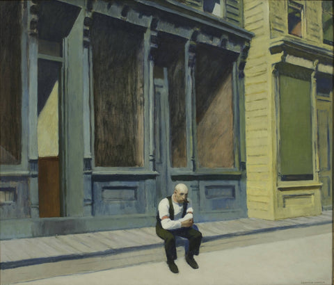 Sunday by Edward Hopper
