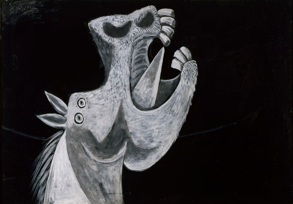 Pablo Picasso - Tête De Cheval - Horse's Head - Canvas Prints