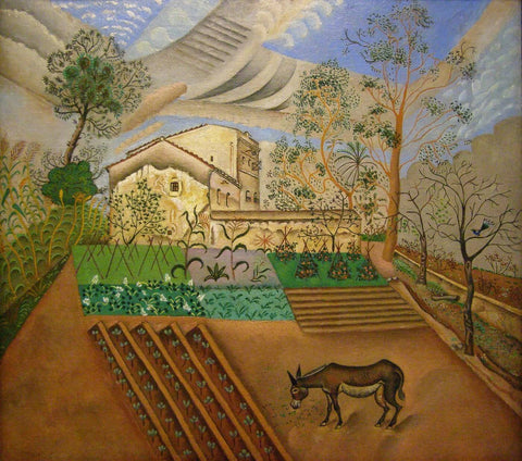 Joan Miro - Hort Amb Ase (The Vegetable Garden With Donkey)
