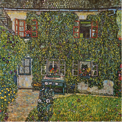 House in a Garden from Gustav Klimt An Aftermath, 1931