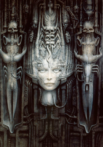 Dark Star by H.R. Giger
