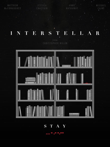 Modern Classics Movie Poster - Interstellar  - Fan Art - Tallenge Hollywood Poster Collection - Framed Prints