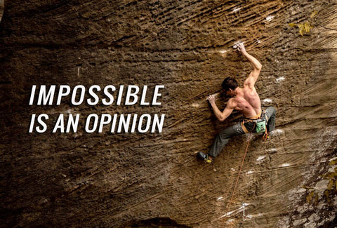 Impossible Is An Opinion - Muhammad Ali Inspirational Quote - Tallenge Motivational Poster by Sherly David