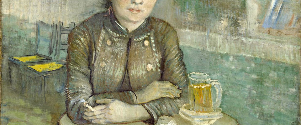 Agostina Segatori Sitting in the Café du Tambourin by Vincent Van Gogh | Buy Posters, Frames, Canvas  & Digital Art Prints