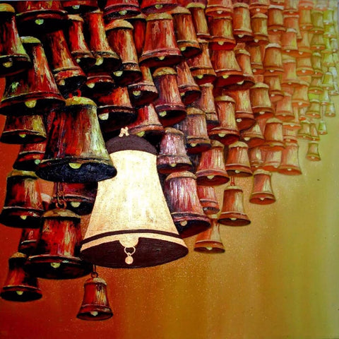 Indian Art - Copper Bells