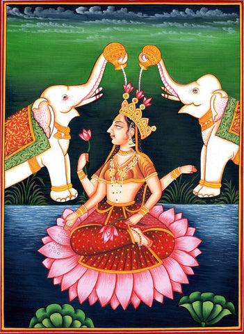 Indian Art - Goddess Lakshmi