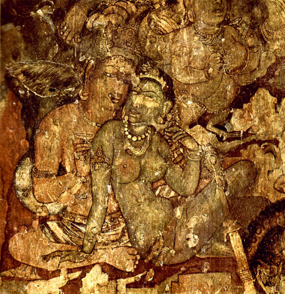 Ajanta Cave Art - Canvas Prints