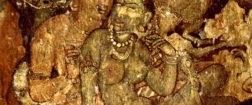 Ajanta Cave Art by Anonymous Artist | Buy Posters, Frames, Canvas  & Digital Art Prints