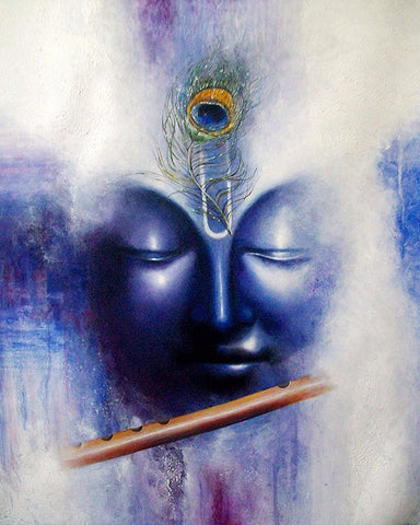 Indian Art - Oil Painting - Krishna 2