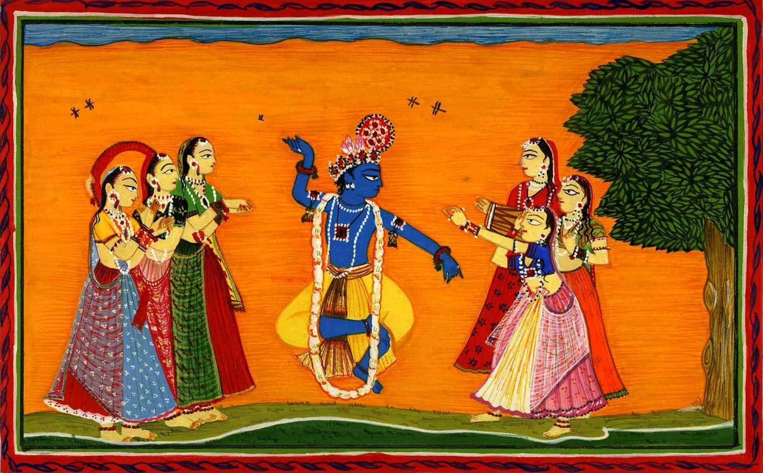 Indian Miniature Paintings | Buy Posters, Frames, Canvas, Digital Art & Large Size Prints
